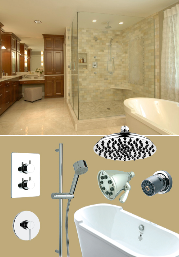 Mood board monday 39 shower spa for Trend bathroom and kitchen