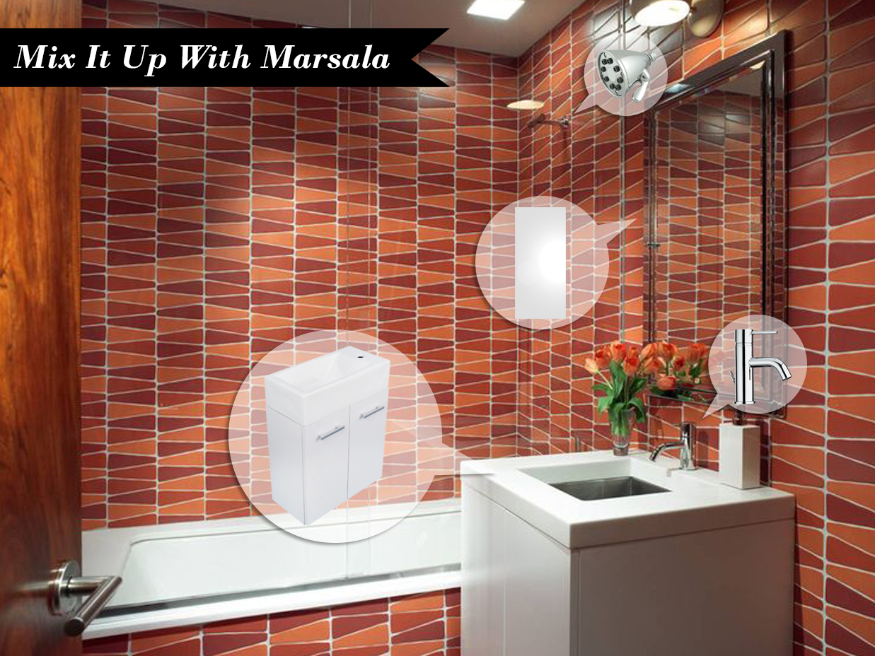 Mood Board Monday #74: Mix It Up With Marsala | Kitchen Bath Trends