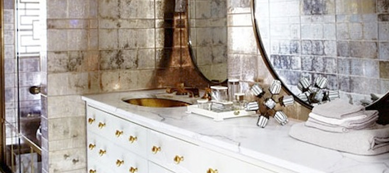 Celebrity Bathrooms: Glamour Meets Shabby Chic