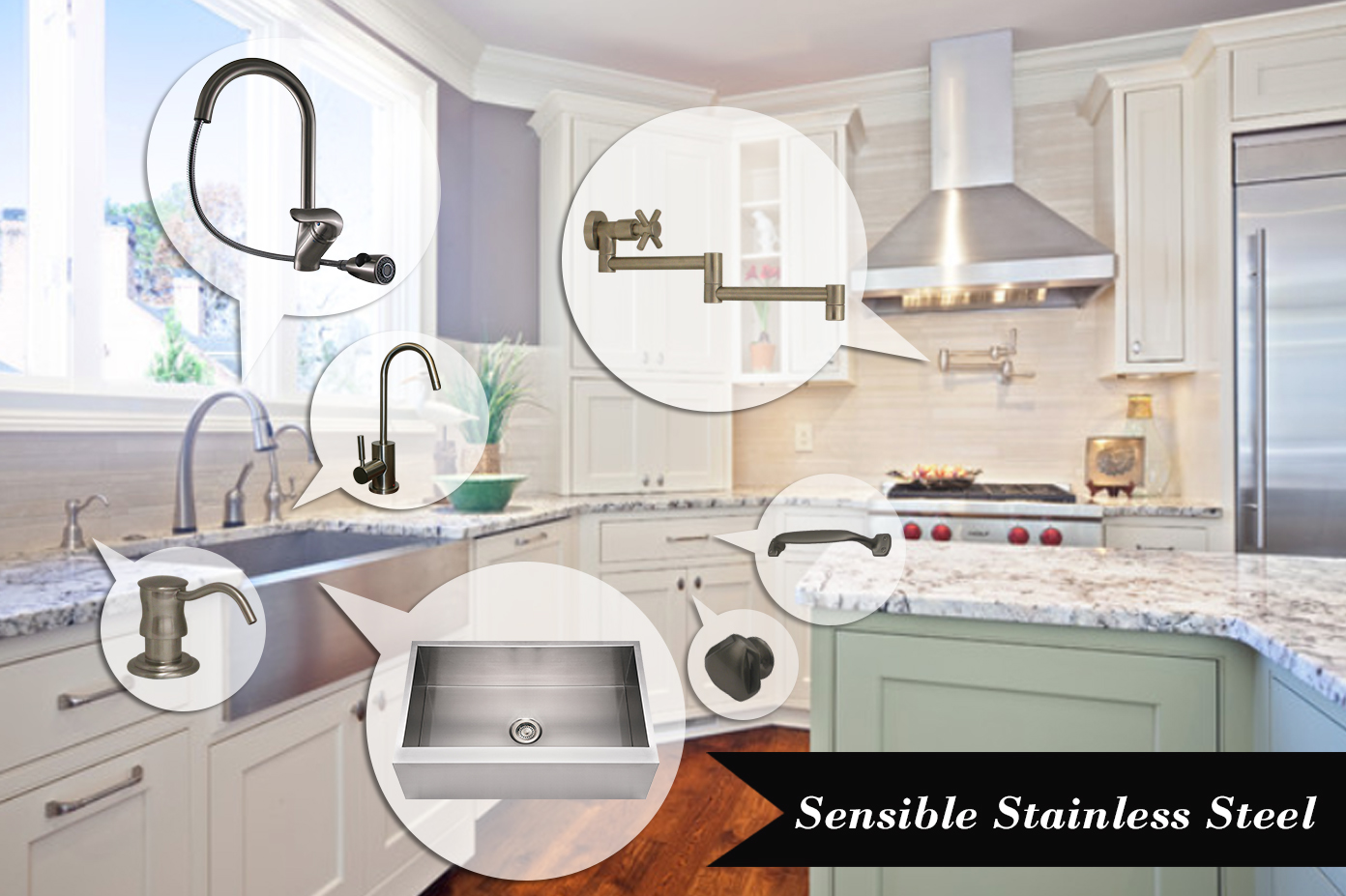 Sensible Stainless Steel | Kitchen Bath Trends