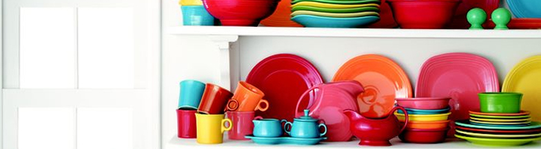 & Colorful Kitchen Plates