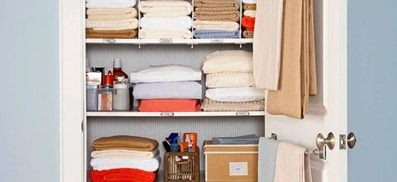 Linen Closet Organization | 10 Ways To Spring Into Organization
