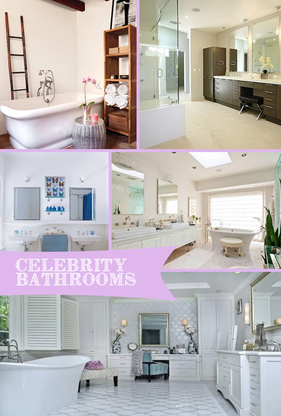 Pinterest Trends: Celebrity Bathrooms