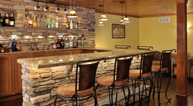 Basement Bar | 6 Wet Bar Designs: Steal The Look