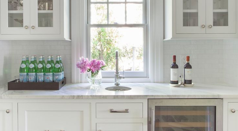 Crisp and Clean | 6 Wet Bar Designs: Steal The Look
