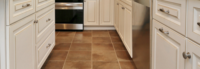 Flooring | 10 Décor Tips To Make Your Small Kitchen Feel Larger