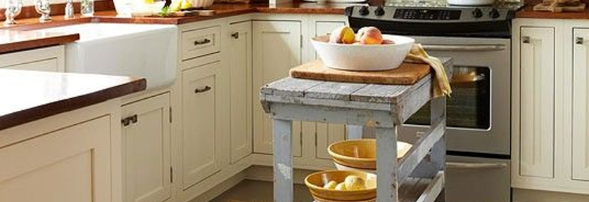 Small Footprints | 10 Décor Tips To Make Your Small Kitchen Feel Larger