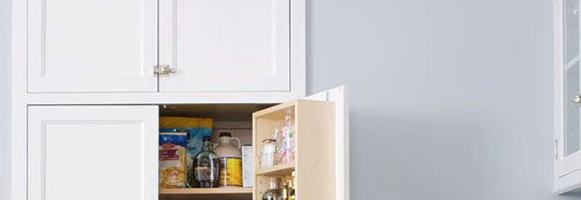 Recessed Storage | 10 Décor Tips To Make Your Small Kitchen Feel Larger
