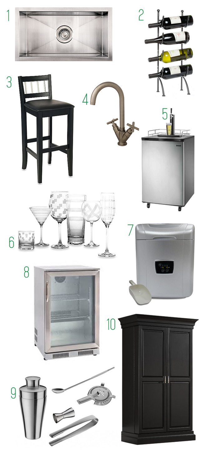 10 Must-Haves For Your Wet Bar | Kitchen Bath Trends