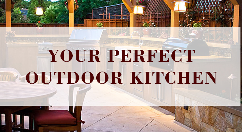 Your perfect outdoor kitchen kitchen bath trends for Perfect kitchen and bath quincy