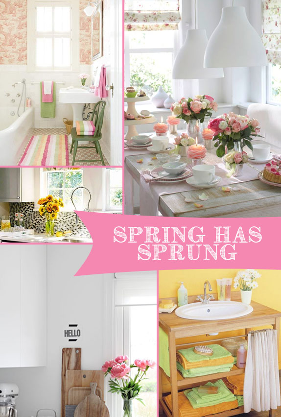 Spring Has Sprung | Kitchen Bath Trends