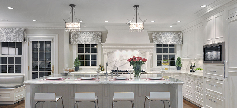 Romantic | Why White Kitchens Work