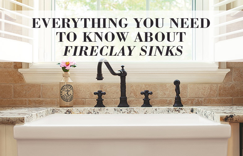 Everything You Need To Know About Fireclay Sinks
