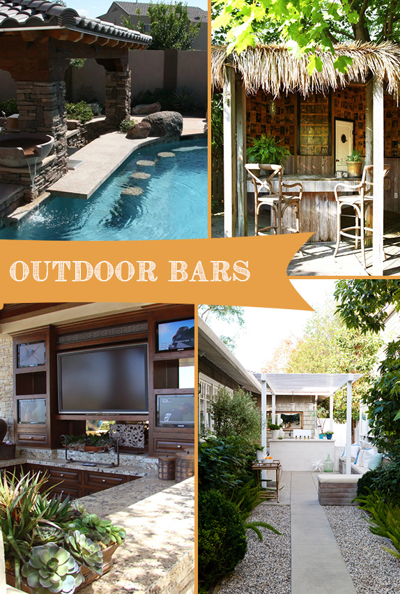 Pinterest Trends: Outdoor Bars | Kitchen Bath Trends