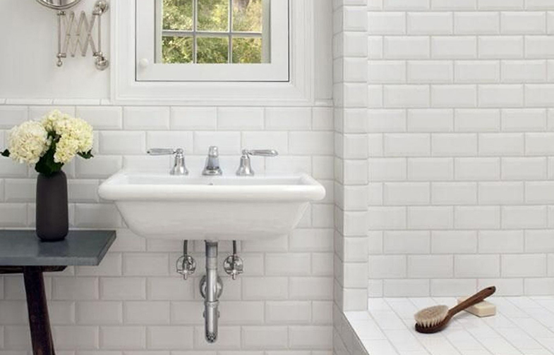 All White Bathroom steal the look: all-white bathrooms - kitchen bath trends