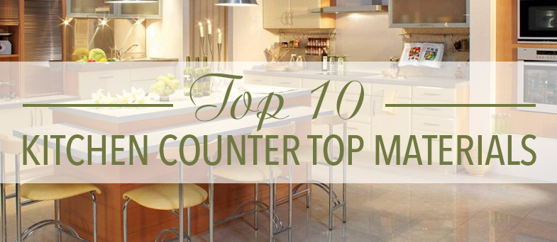 Top 10 Kitchen Counter Top Materials Kitchen Bath Trends