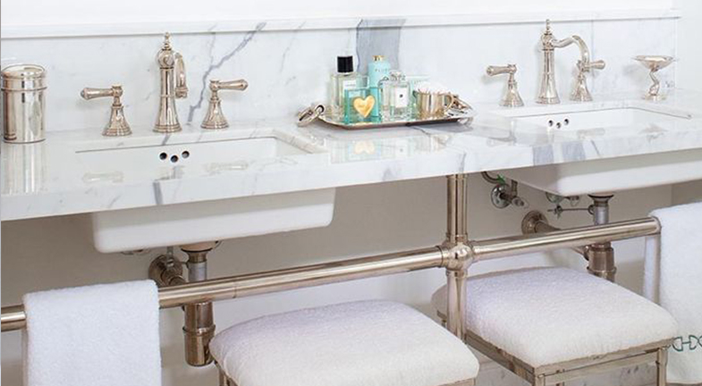 Bath Trends how to make white bathrooms work - kitchen bath trends