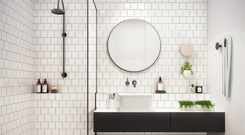 How To Make White Bathrooms Work