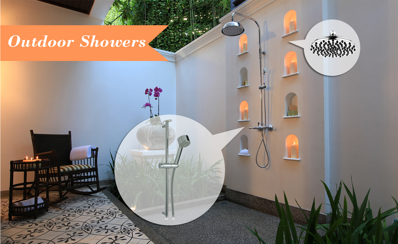 Mood Board Monday Outdoor Showers | Kitchen Bath Trends
