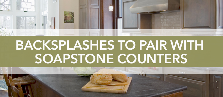 Backsplashes to Pair with Soapstone Counters - Kitchen Bath ... on kitchen sinks soapstone, kitchen countertops soapstone, kitchen faucet soapstone,