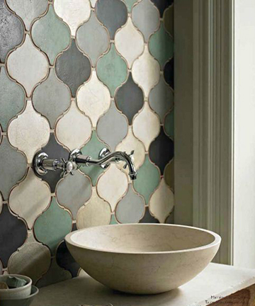 Stylish Bathroom Backsplashes | Kitchen Bath Trends