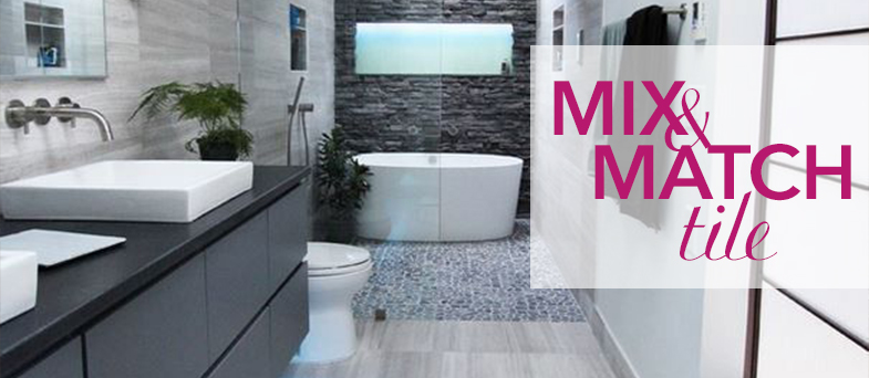Mix and match tiles kitchen bath trends for Trend bathroom and kitchen