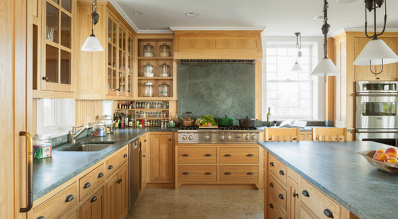 Backsplashes to Pair with Soapstone Counters   Kitchen Bath Trends