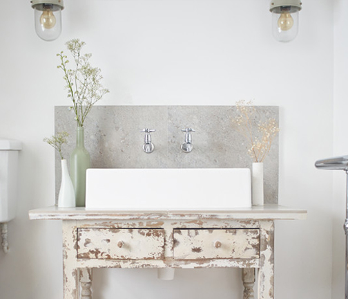 A Very Vintage Bathroom | Kitchen Bath Trends
