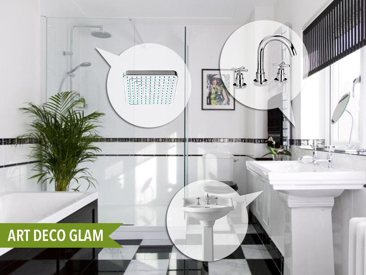 Art Deco Glam | Kitchen Bath Trends