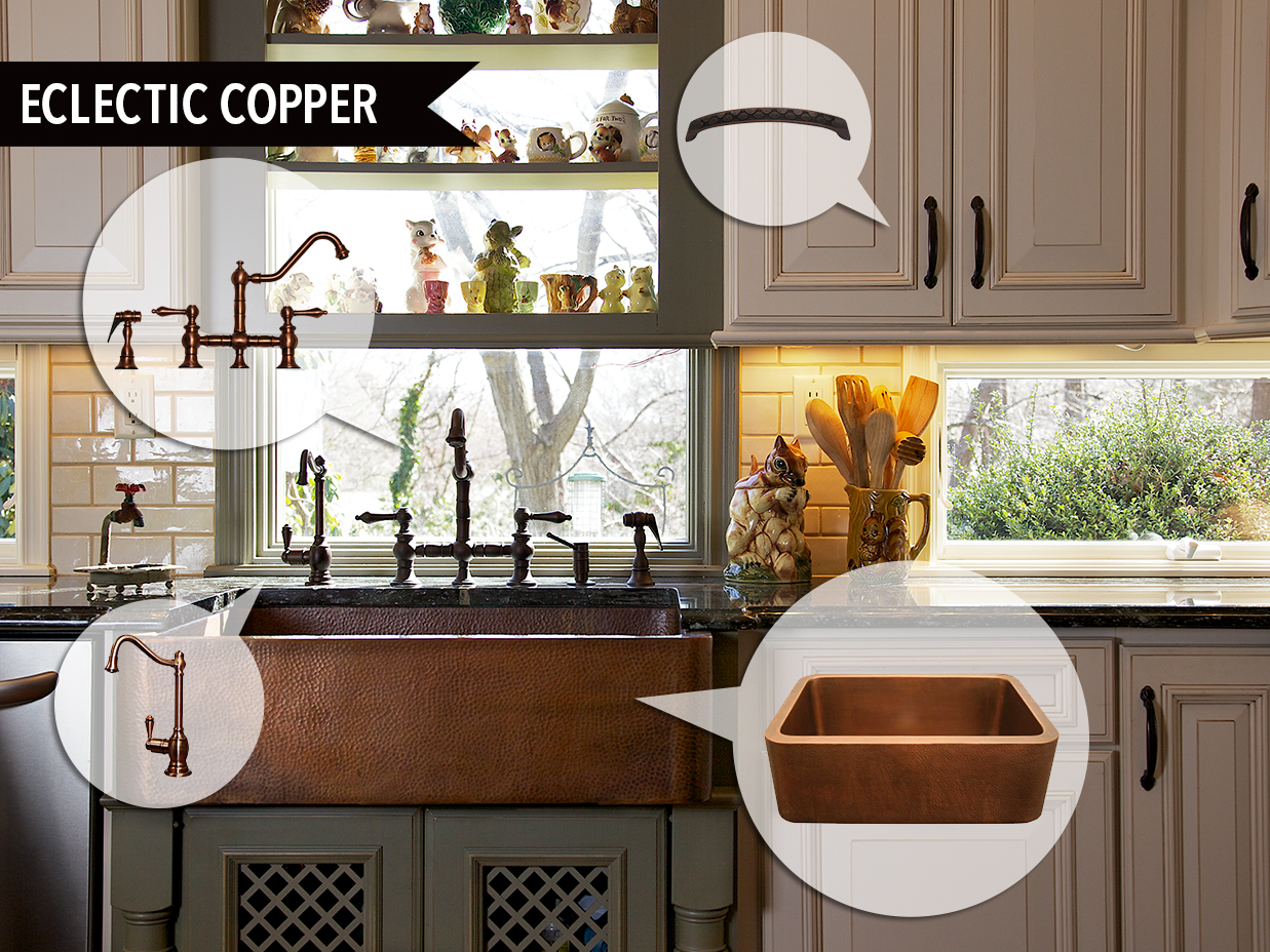 Mood Board Monday: Eclectic Copper | Kitchen Bath Trends