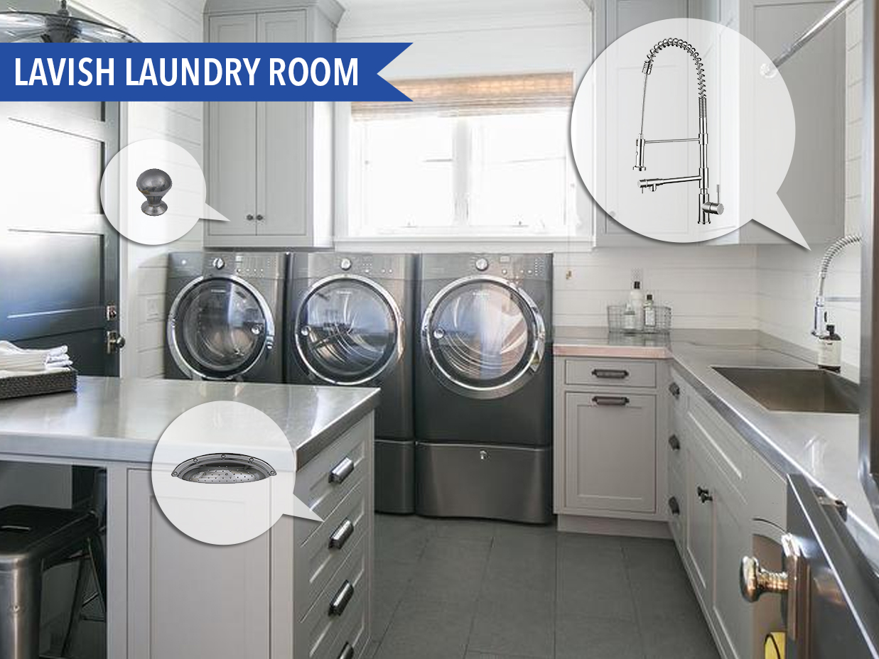 Mood Board Monday #96 Lavish Laundry Room | Kitchen Bath Trends