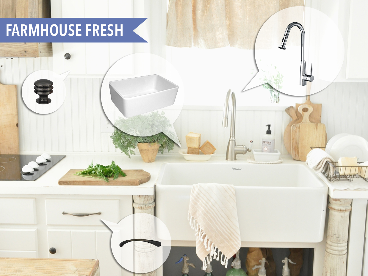 Mood Board #95 - Farmhouse Fresh | Kitchen Bath Trends
