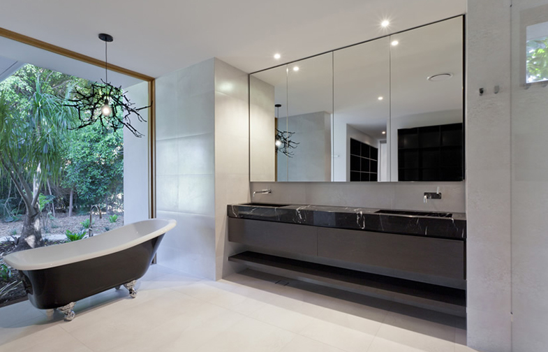 Black & White Bathrooms | Kitchen Bath Trends