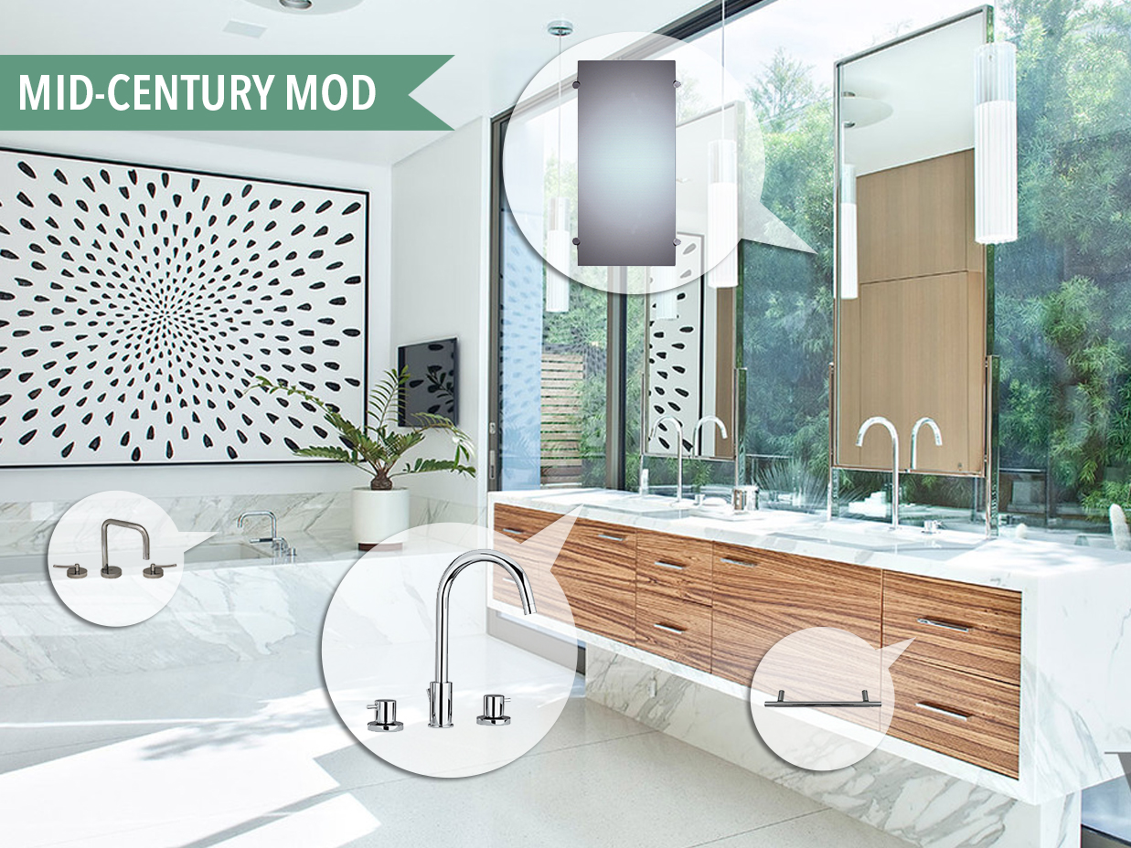 Mood Board 97 Mid Century Modern Kitchen Bath Trends