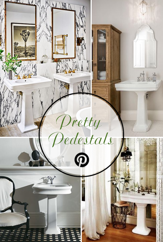 Pinterest Trends: Pretty Pedestals | Kitchen Bath Trends