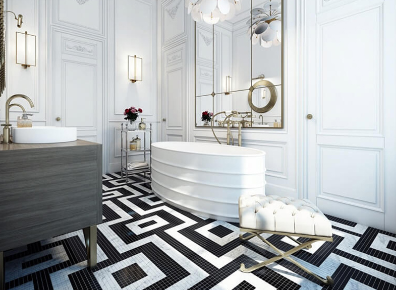 On Trend: Bold Bathrooms | Kitchen Bath Trends
